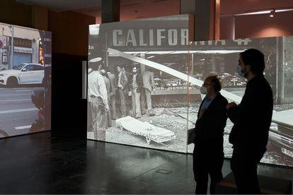 El museo Fundación Centro para la Memoria de las Víctimas del Terrorismo en Vitoria (País Vasco).