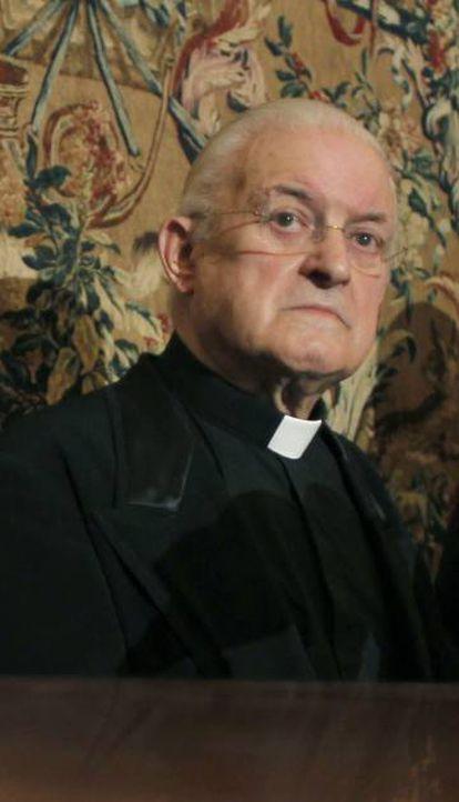 José María Díaz, exdeán de la Catedral de Santiago.
