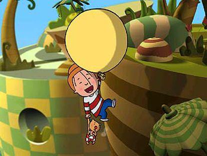 Imagen de la serie de dibujos animados <i>Juanito Jones.</i>