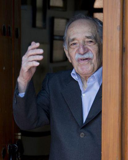 Gabriel García Márquez en marzo de 2014.