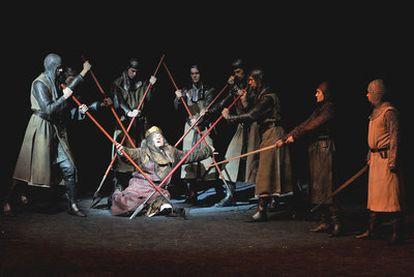 Representación en el festival de Salzburgo de <i>Macbeth,</i> en la versión de Riccardo Muti y Peter Stein.