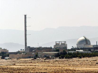 Vista de la planta nuclear israelí de Dimona, en una imagen de archivo.