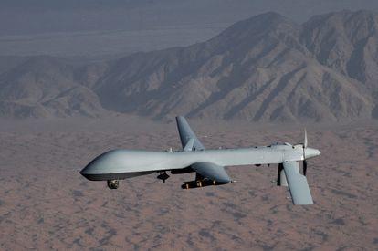 Un avión teledirigido de EE UU, el 'drone predator'
