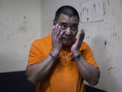 El militar condenado, Santos López Alonzo.