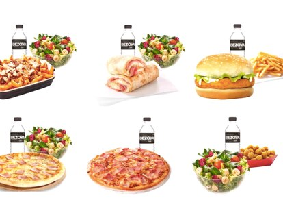 Los menús que Telepizza reparte a los niños cuyas familias reciben la Renta Mínima de Inserción.