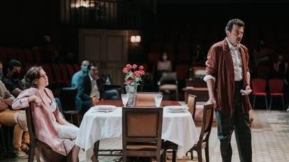 Una escena de la obra 'Filumena Marturano'.