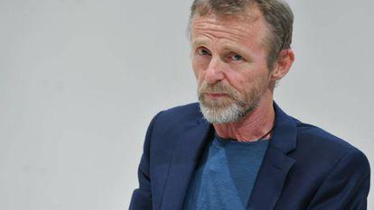 Nesbo, en la Feria del Libro de Frankfurt en ocutbre de 2019.