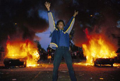 'Riot Boy', una de las fotos del libro de Vinca Petersen sobre los jóvenes antisistema.