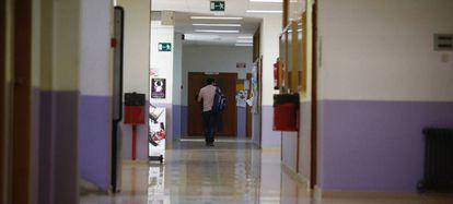 Imagen de la facultad de psicología de la Universidad Complutense en el campus de Somosaguas este jueves.