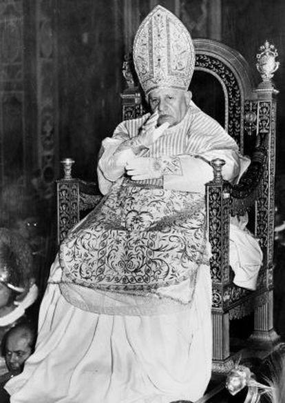 Foto sin fechar del papa Juan XXIII.