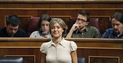 La ministra de Agricultura en funciones, Isabel García Tejerina.
