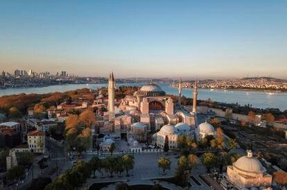Imagen de Santa Sofía, en Estambul.