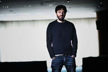 El cineasta Daniel Sánchez Arévalo, ayer en Barcelona.