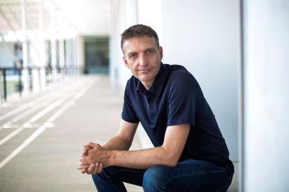 El economista Jan Eeckhout en la Universidad Pompeu Fabra.