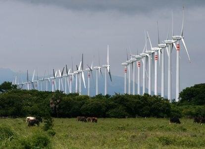 El parque eólico Eurus, de Acciona, se encuentra ubicado en el Estado de Oaxaca (México).