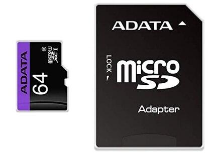 Esta microSD con capacidad de 64 GB es la más vendida en Amazon México