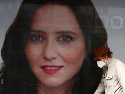 Cartel electoral de Isabel Díaz Ayuso.