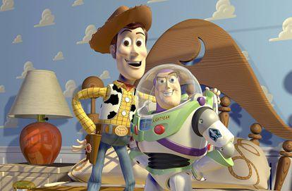 El vaquero Woody y el astronauta Buzz, en busca de esa irresistible aventura de 77 minutos.