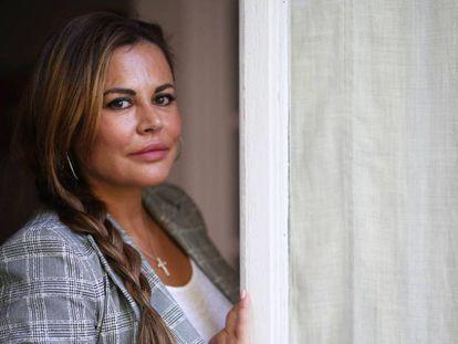 La abogada Teresa Bueyes, en su despacho del barrio de Salamanca, en Madrid.