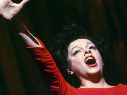 Judy Garland, en 1963. En vídeo, tráiler de la película 'Judy'.