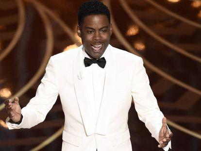 Chris Rock, en la gala de los Oscar de 2016.