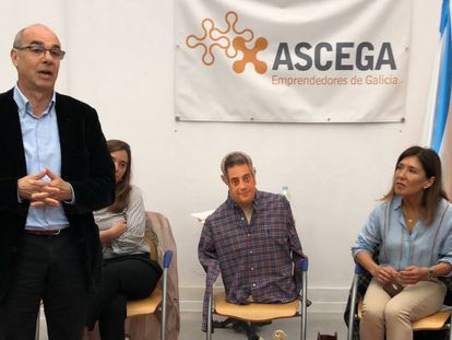 Acto de la Asociación de Emprendedores de Galicia.