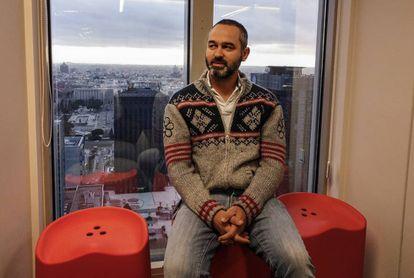 Sergio Boixo, jefe científico de teoría de la computación cuántica de Google, en la sede de la compañía en Madrid.