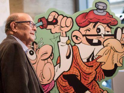 Ibáñez, en la presentación del libro del 60 aniversario.