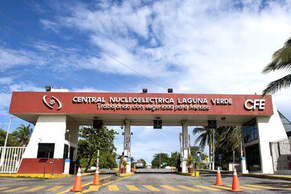 Vista de la Planta Central Nucleoeléctrica Laguna Verde, de Veracruz, México.