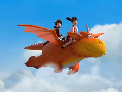 Un fotograma de la película 'Zog and the Flying Doctors'.