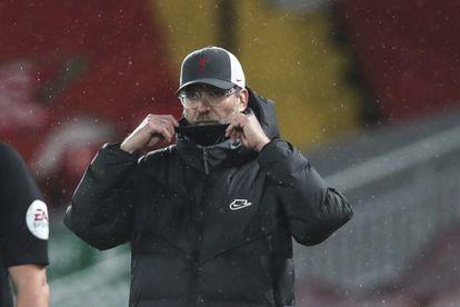 Jürgen Klopp durante el partido contra el Brighton.