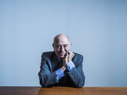 El pensador José Antonio Marina este lunes en Madrid.