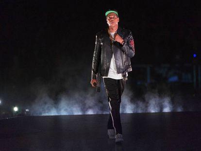 Jay-Z, el pasado domingo en Nueva York.