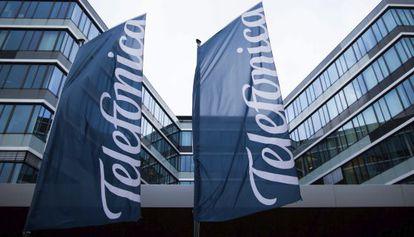 Logotipo de Telefónica.