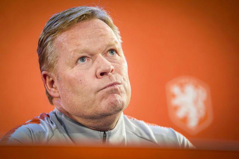Ronald Koeman, técnico de la selección holandesa.