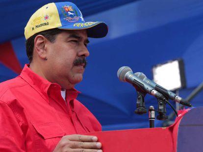 Maduro, durante un acto.