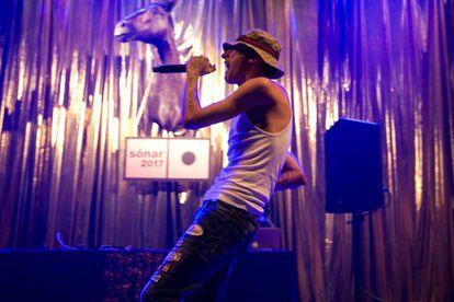 Yung Beef, en el primer día del festival Sónar.