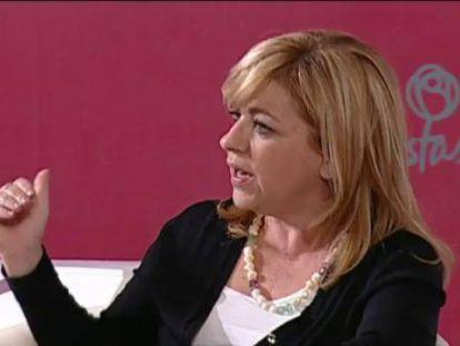 Elena Valenciano será la cabeza de lista de la candidatura del PSOE a las europeas