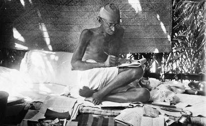 Mahatma Gandhi, en una imagen sin fechar.