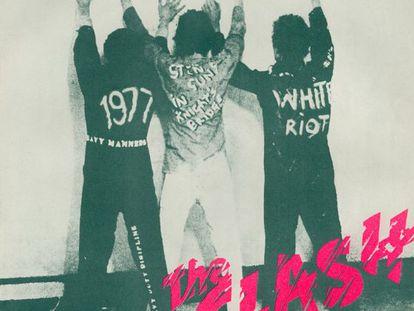 Imagen del disco 'White Riot'.