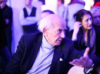 El sociólogo y ensayista polaco Zygmunt Bauman, <i>alma mater</i> del congreso celebrado en Wroclaw.