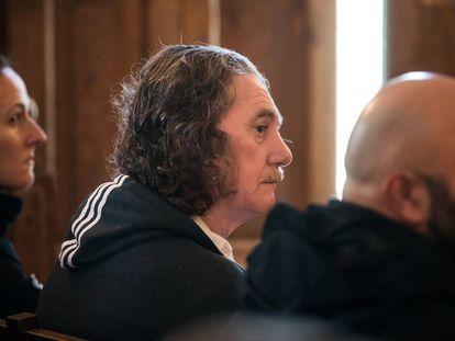 Sito Miñanco, este lunes durante el juicio en Pontevedra.