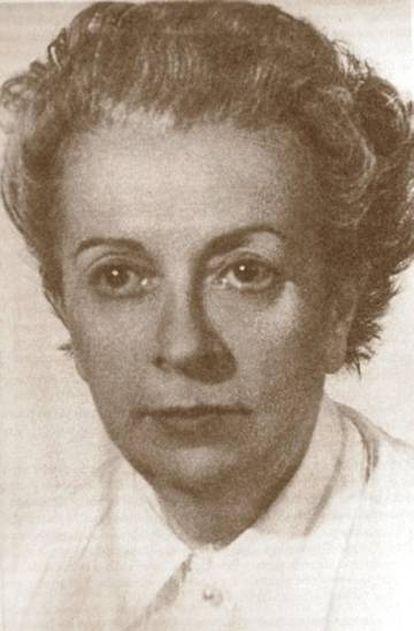 Retrato de Elena Fortún.
