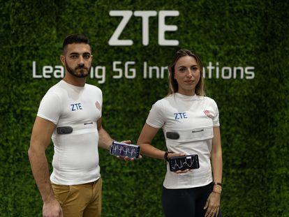 Camiseta inteligente de ZTE.