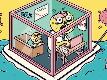 Cómo mantener la sensación de control en el trabajo pese a la pandemia