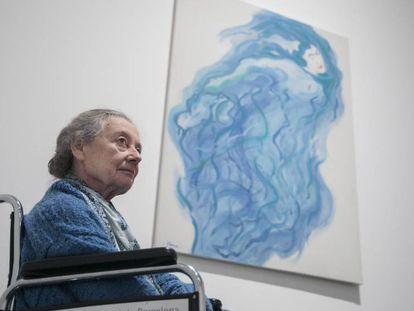 Fina Miralles, en la exposición que le dedica el Macba.