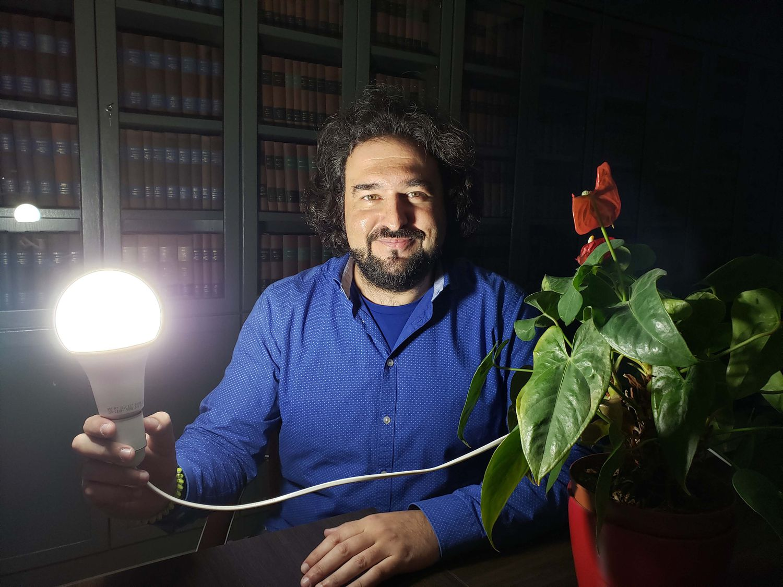 Javier Carretero González, investigador del Instituto de Ciencia y Tecnología de Polímeros del CSIC.