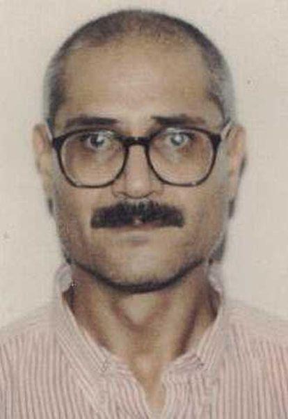 Juan García Martín, presunto terrorista de los GRAPO.
