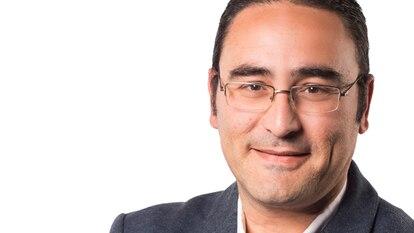 José Vicente Aguilar, concejal de Vox en Burjassot, en una imagen del partido.