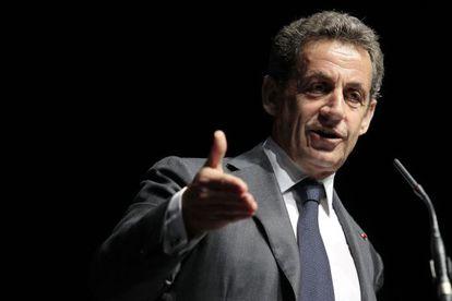 Nicolas Sarkozy, el pasado 22 de abril en Niza.